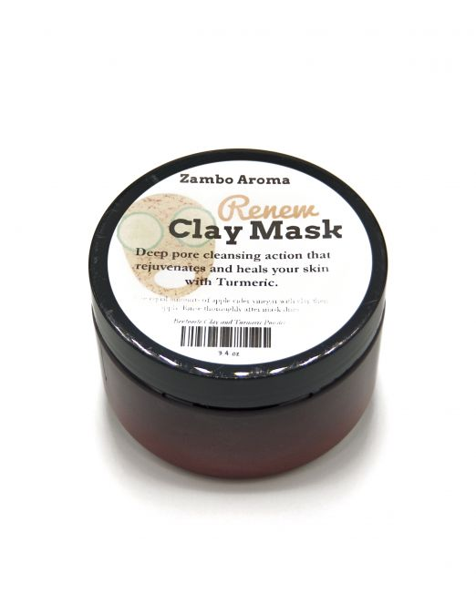 Clay Mask Front